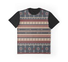 Aztec Pattern Graphic T-Shirt
