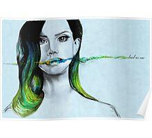 Lana del Rey - Trust no one Poster