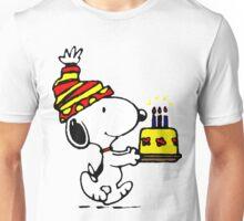 Happy Birthday Snoopy Unisex T-Shirt