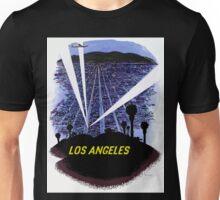 Vintage Airline Los Angeles California Travel Unisex T-Shirt