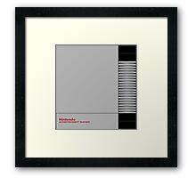 NES Framed Print
