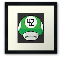 The Meaning of Extra Life!  Framed Print