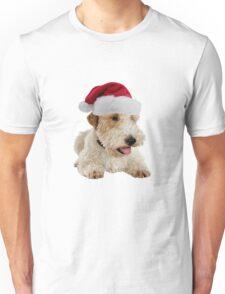 Wire Fox Terrier Santa Claus Merry Christmas Unisex T-Shirt