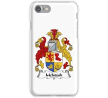 McIntosh Coat of Arms / McIntosh Family Crest iPhone Case/Skin