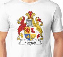 McIntosh Coat of Arms / McIntosh Family Crest Unisex T-Shirt