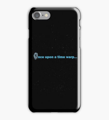Once Upon a Time Warp... iPhone Case/Skin