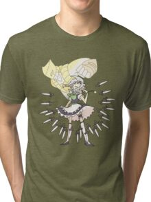 The Maid, the Pocket Watch, and the World Tri-blend T-Shirt
