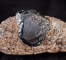 Obsidian on Gaseous Obsidian  by Christopher Carlson