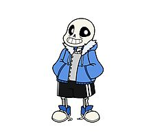 Undertale Sans Photographic Print