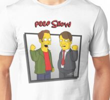 Peep Show - El Dude Brothers - Simpsons Style! Unisex T-Shirt