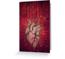 unchain my heart Greeting Card