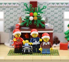 Merry Christmas From Our Family To Yours  by minifignick
