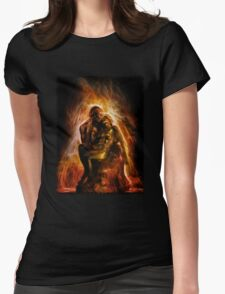 The Ashes and the Fire Womens Fitted T-Shirt