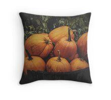 October I Throw Pillow