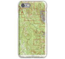 USGS TOPO Map California CA Challenge 100026 2000 24000 geo iPhone Case/Skin