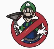 Ghostbuster Mashup Luigi One Piece - Short Sleeve