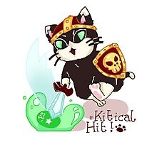 It's a Kitical Hit! Photographic Print