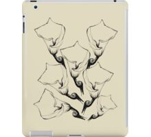 Cream Lily iPad Case/Skin
