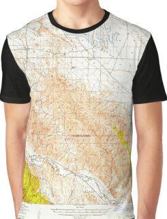 USGS TOPO Map California CA Caliente Mountain 296967 1941 62500 geo Graphic T-Shirt
