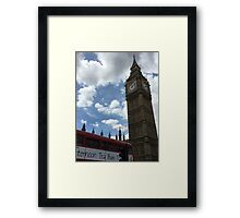 Rush Hour in the Capital Framed Print