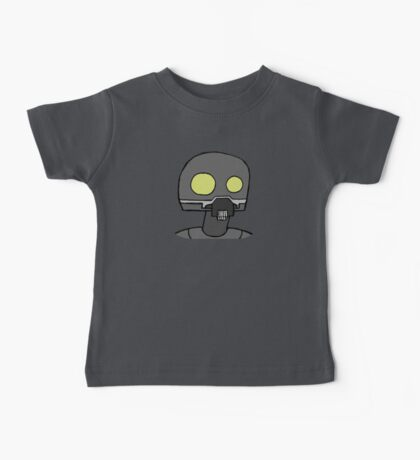 Tempered Robot Colored Baby Tee
