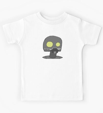 Tempered Robot Colored Kids Tee