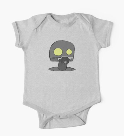 Tempered Robot Colored One Piece - Short Sleeve