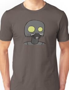 Tempered Robot Colored Unisex T-Shirt