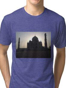 Taj Mahal at Sunrise Tri-blend T-Shirt