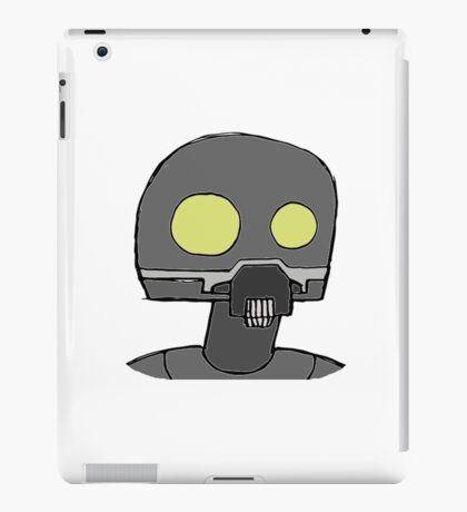 Tempered Robot Colored iPad Case/Skin