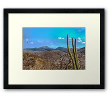 Landscape Scene Machalilla at National Park Ecuador Framed Print