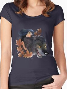 Bigby and Snow Women's Fitted Scoop T-Shirt