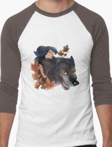 Bigby and Snow Men's Baseball ¾ T-Shirt