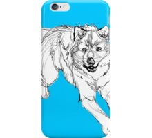 Sketchy Wolf iPhone Case/Skin
