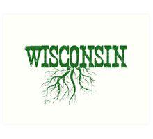 Wisconsin Roots Art Print