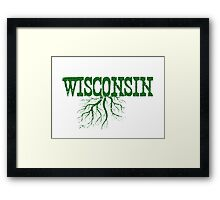 Wisconsin Roots Framed Print