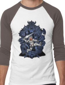 REX ARTHURUS Men's Baseball ¾ T-Shirt