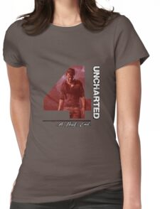 Uncharted 4 A Thief's End Womens Fitted T-Shirt