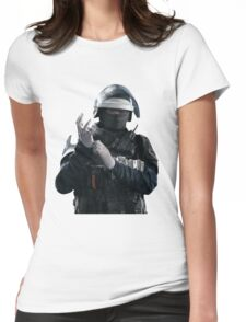 Doc - Rainbow 6 Siege - portrait Womens Fitted T-Shirt