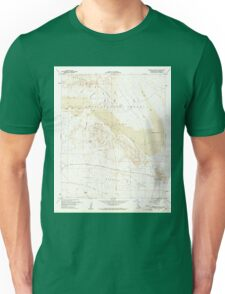 USGS TOPO Map California CA Borrego Mountain 288557 1960 24000 geo Unisex T-Shirt