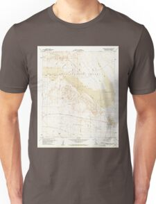 USGS TOPO Map California CA Borrego Mountain 288557 1960 24000 geo Unisex T-Shirt