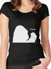 iRambe Women's Fitted Scoop T-Shirt