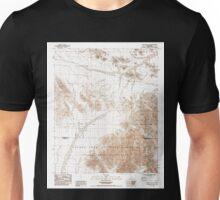 USGS TOPO Map California CA Cadiz Valley SW 100451 1985 24000 geo Unisex T-Shirt