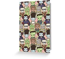Little Monsters All Over!  Greeting Card