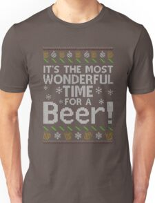 It's The Most Wonderful Time For A Beer Xmas Shirt Unisex T-Shirt