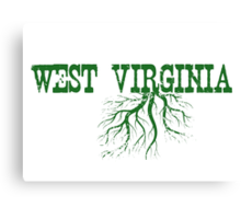 West Virginia Roots Canvas Print
