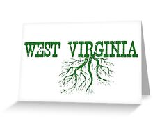 West Virginia Roots Greeting Card