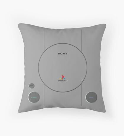 Play The Station Throw Pillow