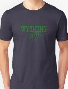 Wyoming State Roots T-Shirt