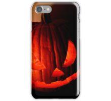 Spooky Halloween Pumpkin iPhone Case/Skin